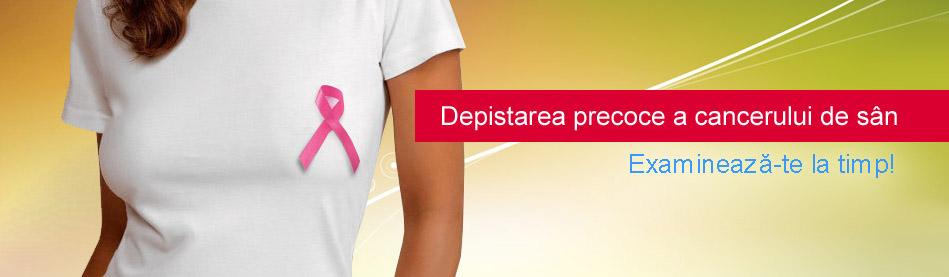 Depistarea precoce a cancerului de san